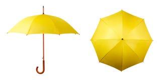 Satz Regenschirme Stockbild