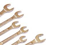 Satz Schlüssel. viele Schlüssel lokalisiert Stockfoto
