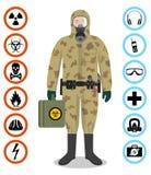 Satz schwarze Bolzen und Schraubenüsse auf Zeichenpapier mit Maßeinteilung mit Diagramm Ausführliche Illustration des Soldaten im Lizenzfreie Stockbilder