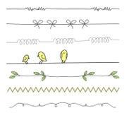 Satz Teiler mit Vögeln vektor abbildung