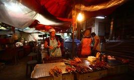 Satz Thailand-Straße food Lizenzfreie Stockfotografie