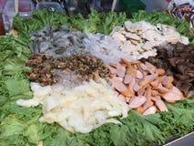 Satz Thailand-Straße food stockbild