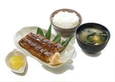 Satz Unagi Kabayaki Lizenzfreie Stockfotografie