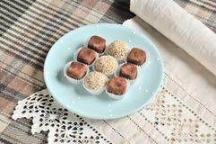 Satz vegetarische Süßigkeiten 2 stockfoto