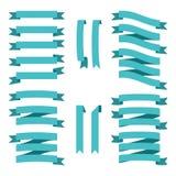 Satz Vektorweinlese-Artbänder für Geschäft und Design Lizenzfreies Stockbild