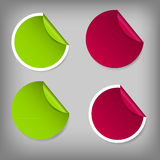 Satz Verkaufs-Umbauten. Vektorillustration Stockfotografie