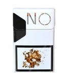Satz von CigarettesPack Lizenzfreies Stockbild