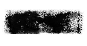 Satz von drei lebhaften Aquarellbürste Anschlägen stock footage