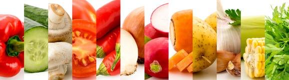 Satz von 12 Früchten auf einem Weiß Stockfotografie