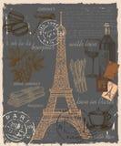 Satz von Frankreich Lizenzfreie Stockfotografie