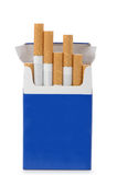 Satz Zigaretten Stockfoto