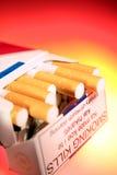 Satz Zigaretten Stockbilder