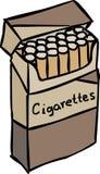 Satz Zigaretten Lizenzfreie Stockfotografie