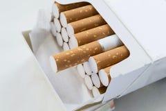 Satz Zigaretten Stockbild