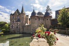 Satzvey Германия замка Стоковые Фотографии RF