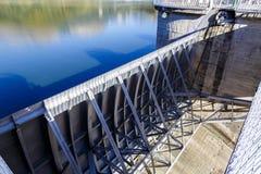 Sau水库细节在巴塞罗那西班牙 库存照片