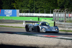 Sauber Mercedes Group C race car in action Stock Photography