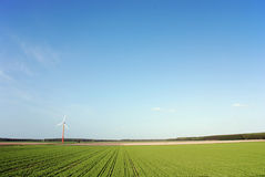 Saubere Energie Stockbild