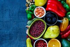 Saubere Essendiät Stockfotos