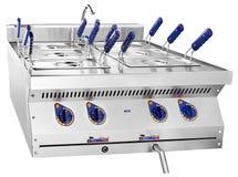 Sauberer Fritteuseabschluß herauf Foto in der Küche Stockfotos