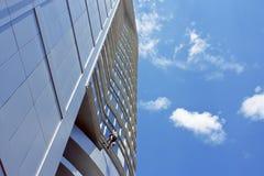 Saubererer Wolkenkratzer Stockbild