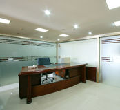 Sauberes Büro der Firma Stockfoto