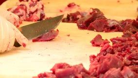 Sauberes Rindfleisch stock footage
