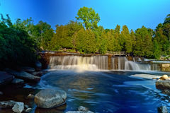 Sauble Falls in South Bruce Peninsula, Ontario Stock Photography