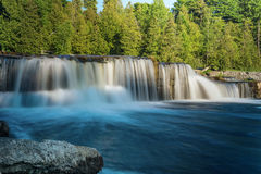 Sauble Falls in South Bruce Peninsula Ontario Royalty Free Stock Photo