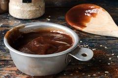 Sauce à BBQ Photographie stock libre de droits