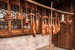 Sauce à Changjiang de sauce à Zhejiang Jiaxing Wuzhen Xichang dans la nourriture de viande photos libres de droits