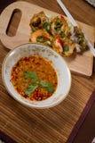 Sauce à fruits de mer Photographie stock libre de droits