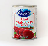 Sauce à la canneberge Images stock