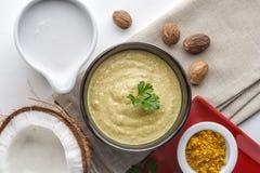 Sauce à noix de coco Photos stock