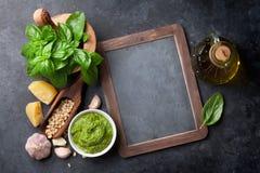 Sauce à Pesto photo libre de droits