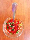 sauce à poissons de piment Image libre de droits