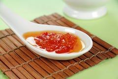 Sauce à s/poivron douce images stock