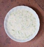 Sauce à yaourt de Tzatziki Photo stock