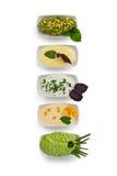 Sauce assortment Stock Photography