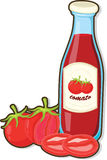 Sauce Bottle Stock Photography