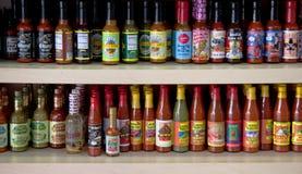 Sauce chaude de la Louisiane Images libres de droits