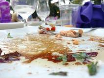 Sauce d'un plat Image libre de droits