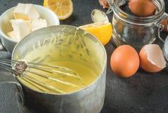 Sauce de base à Hollandaise Photographie stock