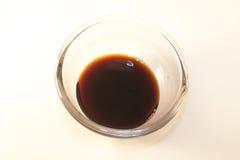 Sauce de soja photo stock