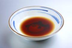 Sauce de soja Photographie stock