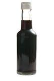 Sauce de soja dans la bouteille photo libre de droits