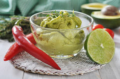 Sauce guacamole Royalty Free Stock Image