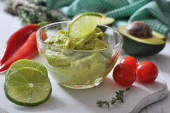 Sauce guacamole Royalty Free Stock Photo