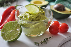 Sauce guacamole Royalty Free Stock Photography