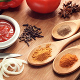 Sauce ingredient Stock Photography